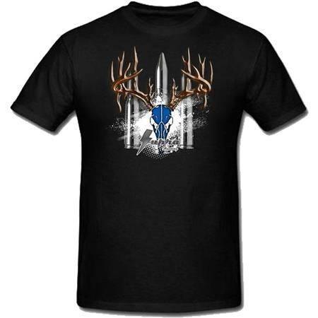 Tee Shirt Manches Courtes Homme Supra - Noir