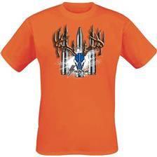 Tee shirt manches courtes homme supra - orange
