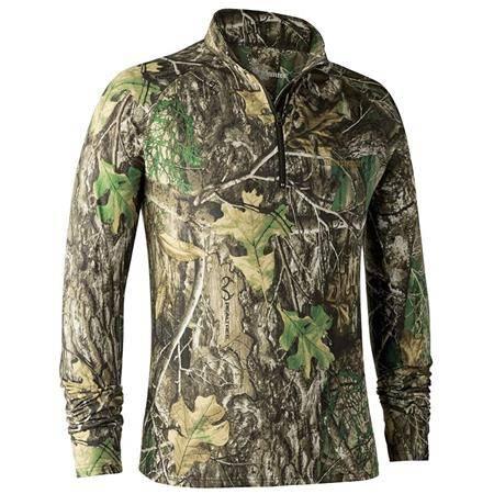 Tee Shirt Manches Longues Homme Deerhunter Approach - Camo