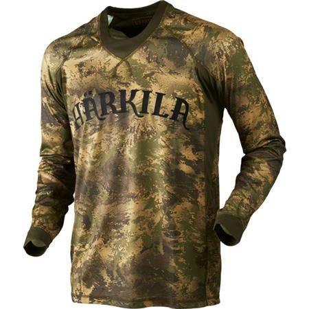 Tee Shirt Manches Longues Homme Harkila Lynx L/S - Camo