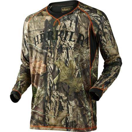 Tee Shirt Manches Longues Homme Harkila Moose Hunter L/S - Camo