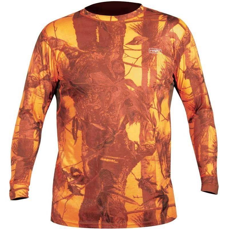 Tee Shirt Manches Longues Homme Hart Crew-L - Camo Blaze
