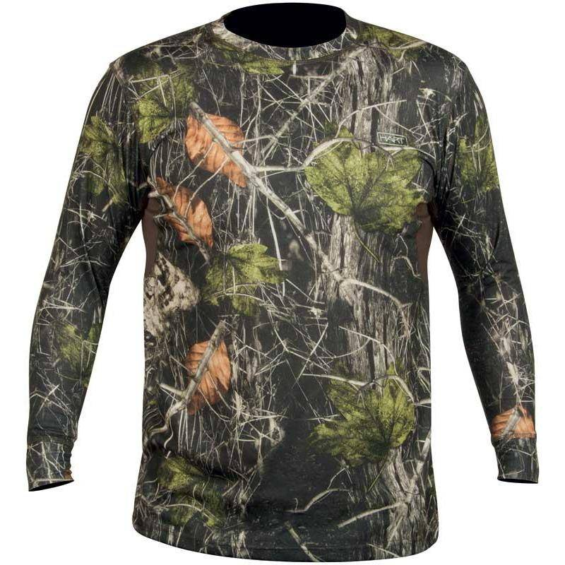 Tee Shirt Manches Longues Homme Hart Crew-L - Camo