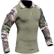 Tee shirt manches longues homme opex ubas cooldry - camou