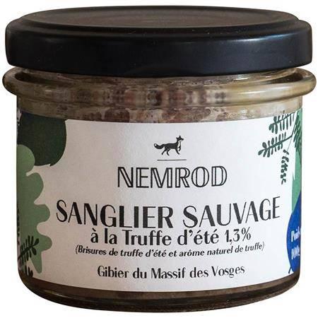 Terrine Nemrod Sanglier Sauvage A La Truffe D'ete 1,3%