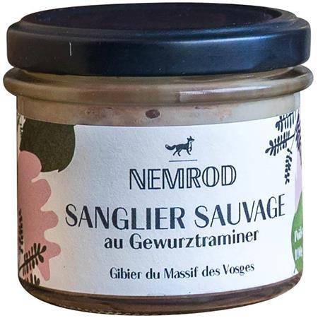 Terrine Nemrod Sanglier Sauvage Au Gewurztraminer