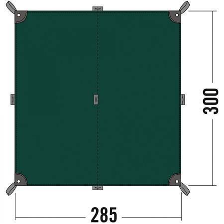 Toile Tatonka Tarp 2 - Polyester