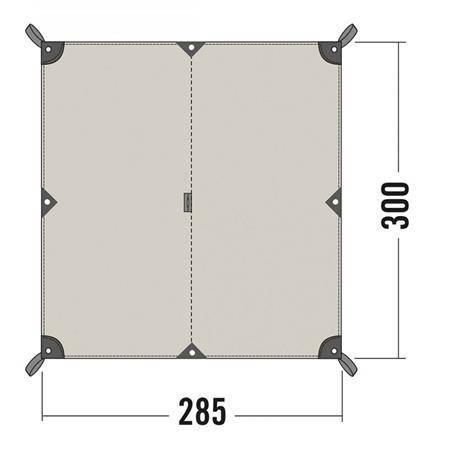 Toile Tatonka Tarp 2 Tc - Coton Imperméable