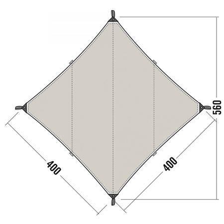 Toile Tatonka Tarp 3 Tc - Coton Imperméable