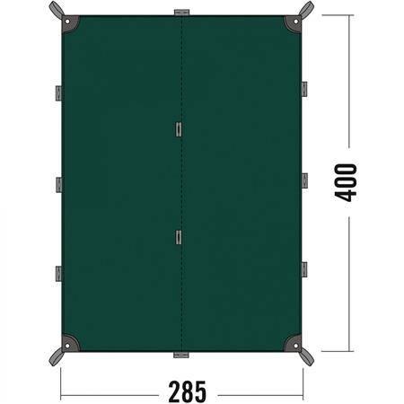 Toile Tatonka Tarp 4 - Polyester