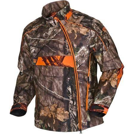 Veste De Traque Homme Harkila Moose Hunter Hsp - Mossy Oak/Orange