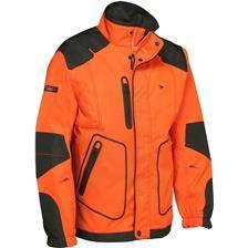 Veste de traque homme ligne verney-carron rapace - orange
