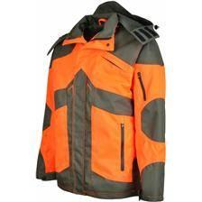 Veste de traque homme ligne verney-carron rhino - orange/kaki