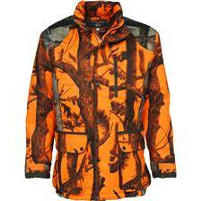 Veste de traque homme percussion brocard - ghost camo blaze black