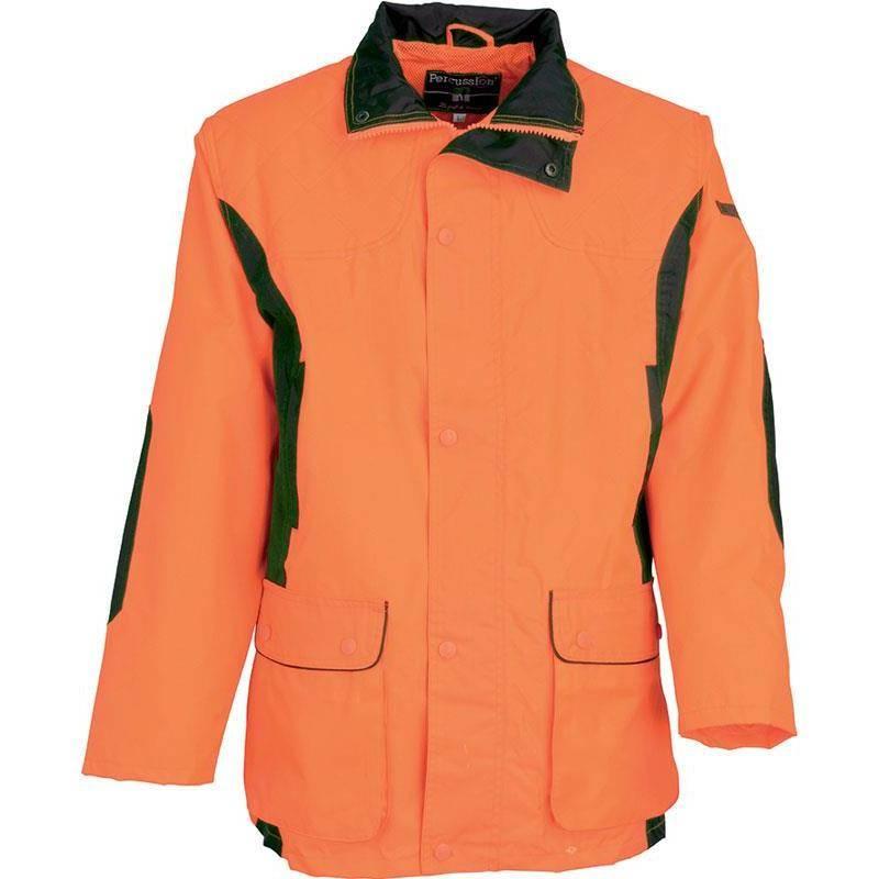Veste De Traque Homme Percussion Renfort - Orange