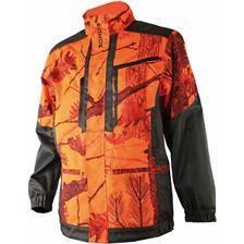 Veste de traque junior somlys 457k - camou orange