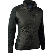 Veste femme deerhunter lady caroline padded jacket - timber