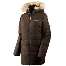 Veste femme harkila expedition lady chaude - marron