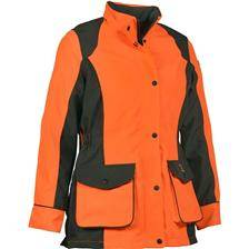 Veste femme percussion stronger - kaki/orange