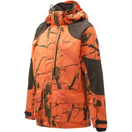 Veste Homme Beretta Gascon Jacket - Camou Orange