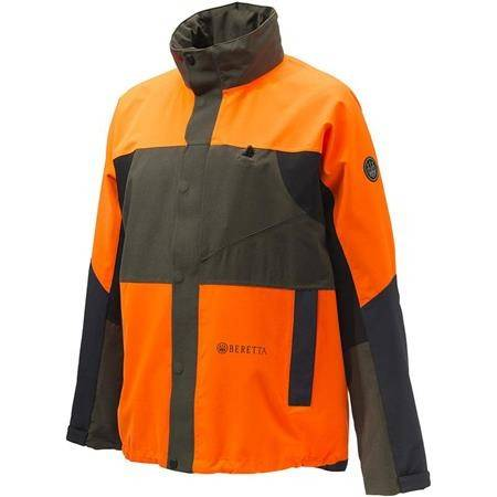 Veste Homme Beretta Tri- Active Wp Jacket - Vert/Orange