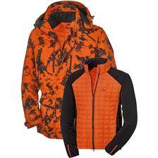Veste homme blaser driven hunt 2-en-1 - orange camo