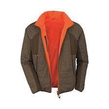 Veste homme blaser primaloft reversible - marron/orange