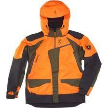 Veste homme browning tracker pro - orange et vert