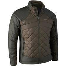 Veste homme deerhunter cumberland quilted jacket - dark elm