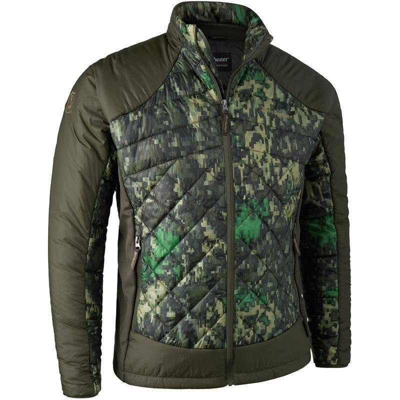 Veste Homme Deerhunter Cumberland Quilted Jacket - Eq Camouflage