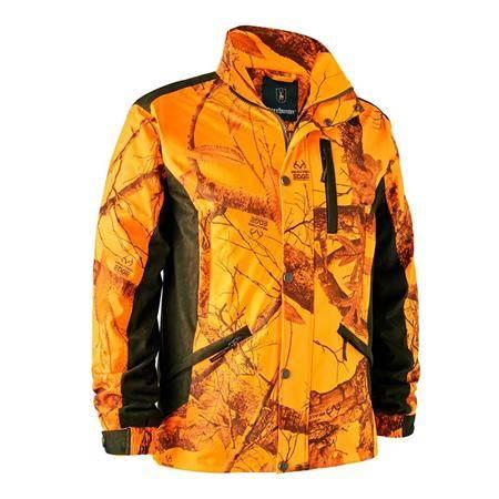 Veste Homme Deerhunter Explore - Orange Camo