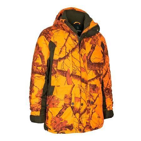 Veste Homme Deerhunter Explore Winter - Orange Camo