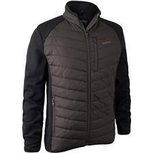 Veste homme deerhunter moor padded jacket - brown leaf