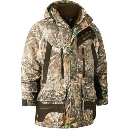 Veste Homme Deerhunter Muflon Jacket Long - Realtree Edge Camo
