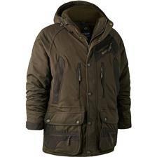 Veste homme deerhunter muflon jacket long - vert