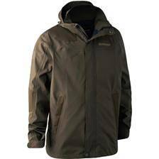 Veste homme deerhunter track rain jacket - canteen