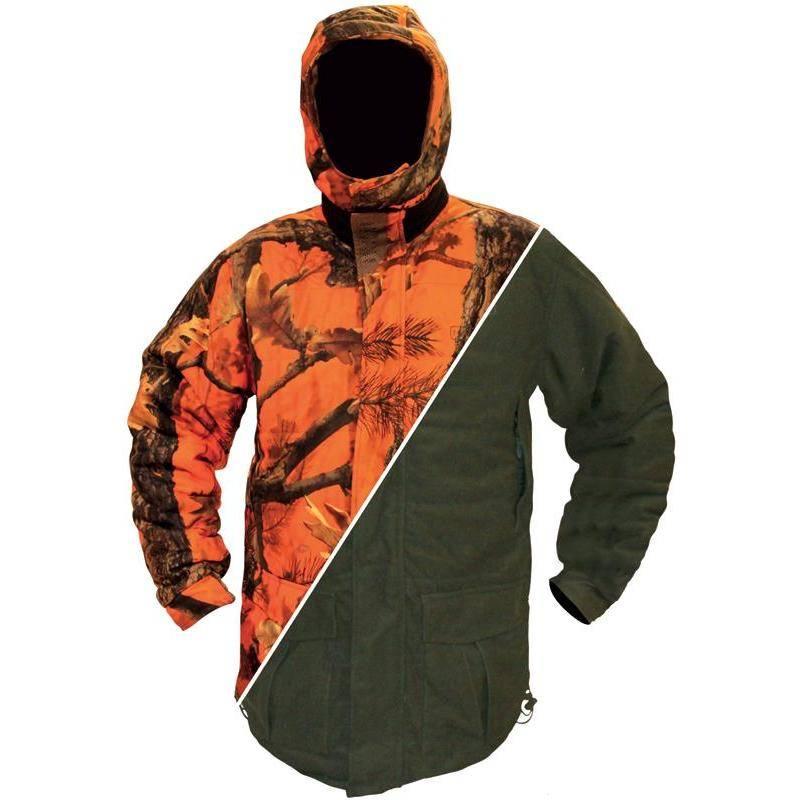 Veste Homme Hart Reversible Artika Evo Blaze - Kaki/Orange