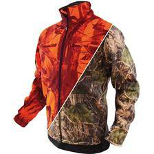 Veste homme hart reversible latok 2d camo/orange