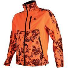 Veste homme somlys 407 softshell - camou orange
