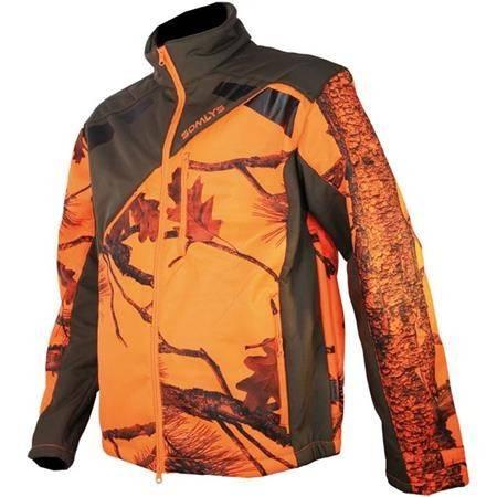 Veste Homme Somlys 418 Newtek - Camou Orange