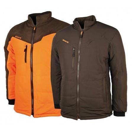 Veste Homme Somlys 435 Thermo-Hunt Réversible - Vert/Orange