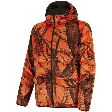 Veste Homme Stagunt Alaskan Jkt Réversible - Camou Orange