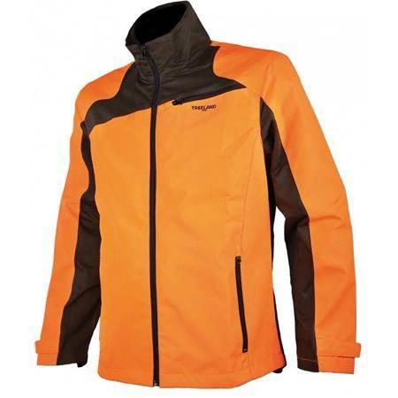Veste Homme Treeland T621 Oxford Maquisard - Orange