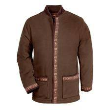 Veste polaire homme club interchasse sennely - marron