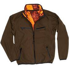 Veste reversible homme browning hells canyon pro - vert olive / camou orange